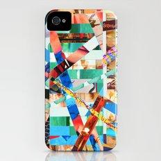 Bianca (stripes 22) Slim Case iPhone (4, 4s)