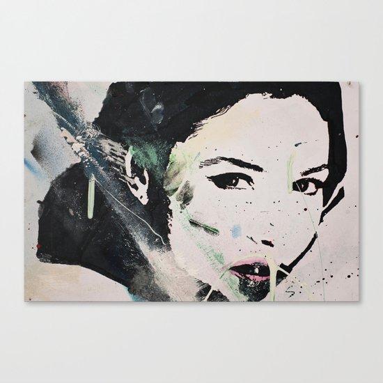 Monika Bellucci Canvas Print