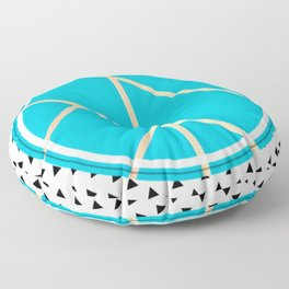 Leaf - small triangle graphic Floor Pillow