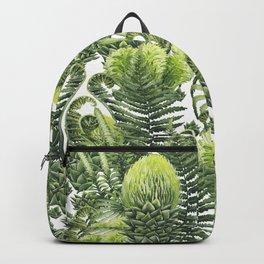 Watercolor prehistoric plants Backpack
