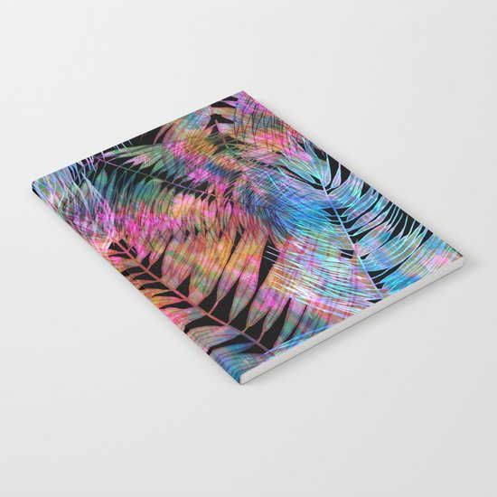 Waikiki Tropic {Black} Notebook