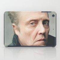 christopher walken iPad Cases featuring Walken by AXLWD