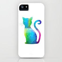 Colorful Cat iPhone Case