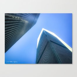 Twin Towers 09/07/2001 Canvas Print
