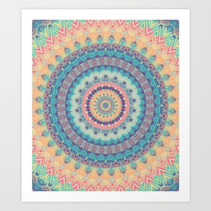Mandala 350 Kunstdrucke