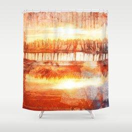 LAKEFORESTLAKE Shower Curtain