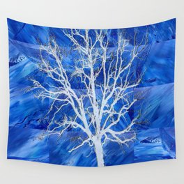 and the seed became tree Wall Tapestry