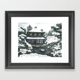 hanamura Framed Art Print