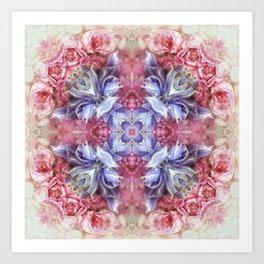 summer love N°3  (pattern) Art Print