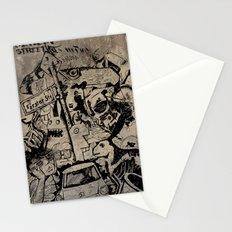 Berlin Street Art concrete Stationery Cards