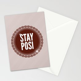Stay Posi Stationery Cards