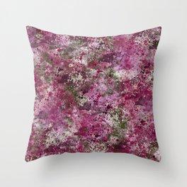 Rose Garden Shrapnel Throw Pillow