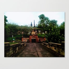 Cathedral in Scotland Canvas Print