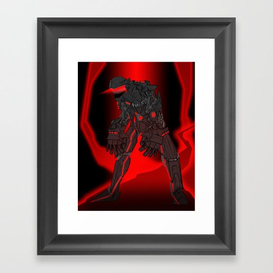 ULTRACRASH 4 Framed Art Print