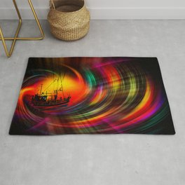 Time Tunnel 3 Rug
