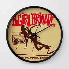 BGIRL BRIGADE Wall Clock