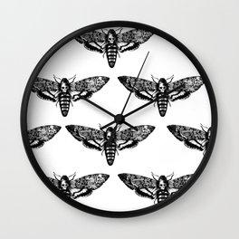 deathmoth Wall Clock