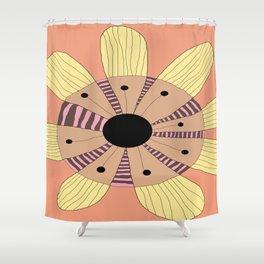 FLOWERY MARIA  / ORIGINAL DANISH DESIGN bykazandholly Shower Curtain