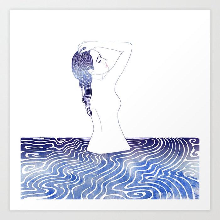 Water Nymph LVI Art Print
