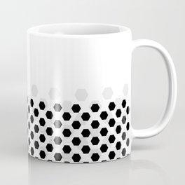 Backgroun of soocer,  football. Traditional sport texture of ball. Coffee Mug