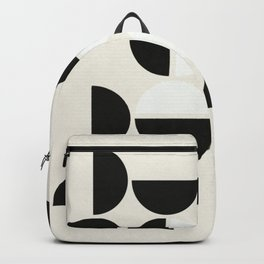Black Petals Backpack