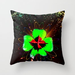 Happiness is beautiful Throw Pillow