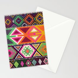 Aztec Artisan Tribal Bright Stationery Cards