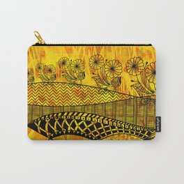 Posey Parade Flowerscape Carry-All Pouch