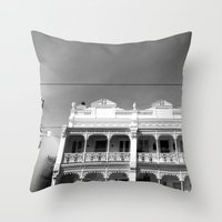 melbourne Throw Pillows featuring Melbourne by Hannah