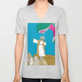 Jesus, Etc. Unisex V-Neck