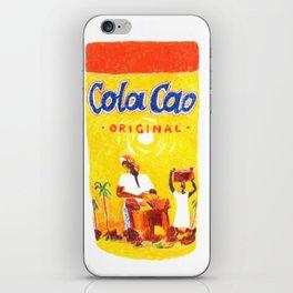 Cola Cao Chocolate iPhone Skin