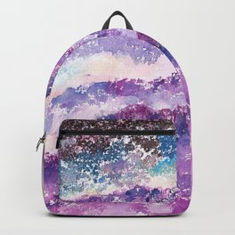Abstract Whimsical Art Illustration. Backpack