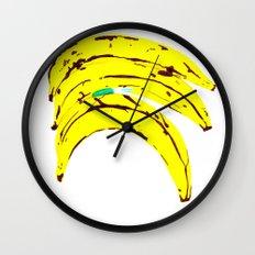 99 Plantains Wall Clock