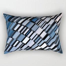 Abstract Architectural Rectangular Pillow
