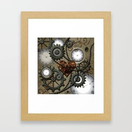 Steampunk II Framed Art Print