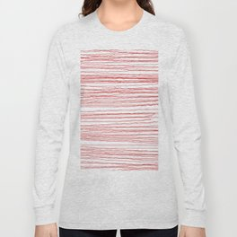 just some red lines Long Sleeve T-shirt