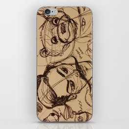 Be Brave. Be Yourself. iPhone Skin