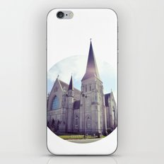 the church iPhone & iPod Skin