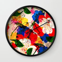 Effervescent land Wall Clock