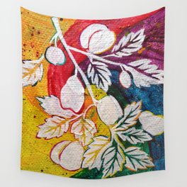 Leaves on the World Tree: Circassian Cork Oak with Mixed Fruit Wall Tapestry
