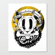 Dog skull Canvas Print