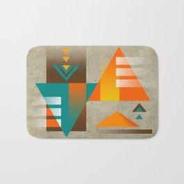 SUMMIT | orange Bath Mat