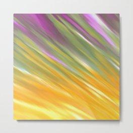Golden Aurora Metal Print