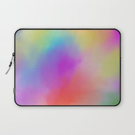 Modern abstract bold colors watercolor pattern Laptop Sleeve
