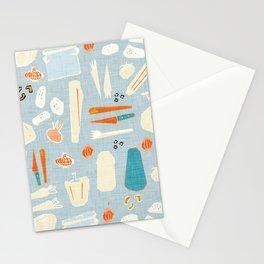 Veggies Malibu Stationery Cards