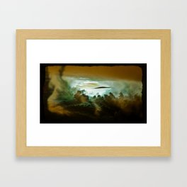 I Want To Believe - Gold Framed Art Print