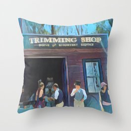 Time Travellers 1 Throw Pillow