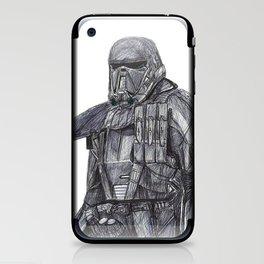 Death Trooper iPhone & iPod Skin
