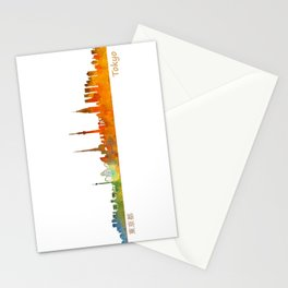 Tokyo City Skyline Hq V1 Stationery Cards