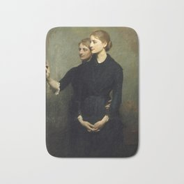 Abbott H. Thayer - The Sisters, 1884 Bath Mat